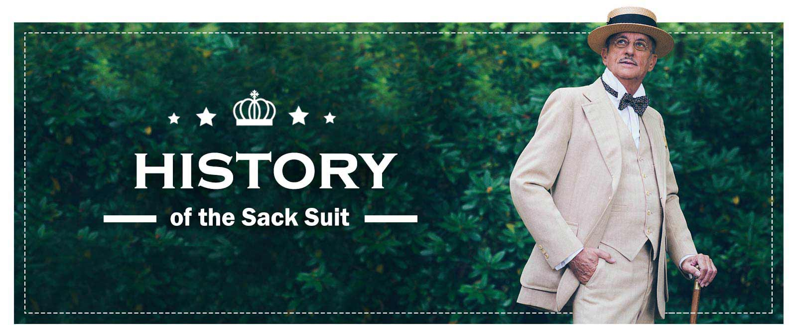 History of the sack suit