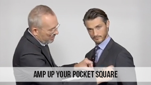 amp up your pocket square