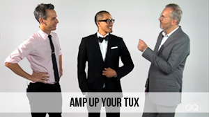 amp up your tux