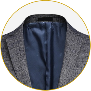 A felt-lined color is soft to the touch and let's your jacket double for outerwear when  nights turn cold.