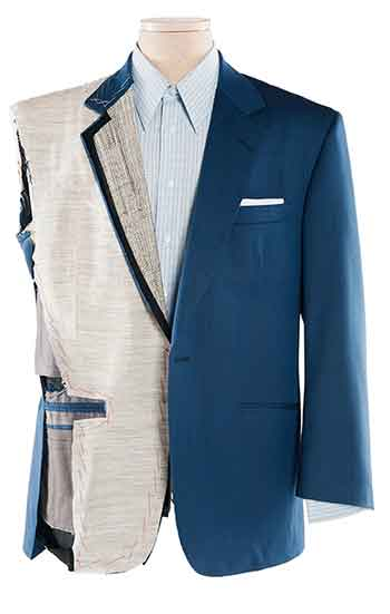 Anatomy of a men's suit