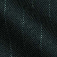 Super 120s Tasmanian Wool With Mink and Cashmere in Traditional Chalk Stripes