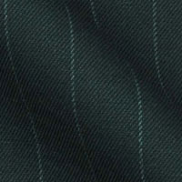 180s Italian Wool Blend Fabric From Gold Collection in Traditional Chalk Stripe