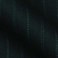180s Italian Wool Blend Fabric From Gold Collection in Quarter inch Double Oxford Stripe
