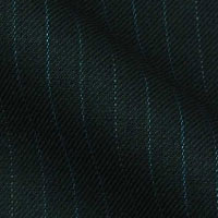 180s Italian Wool Blend Fabric From Gold Collection in Classic Pinstripes