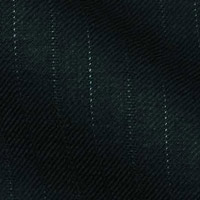 140s All-Year Wool Fabric From Gold Collection in 1/4 inch pale contrast stripes