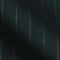 Super 140s Wool by Bruno DaSilva in 1/2 inch bicolor stripe