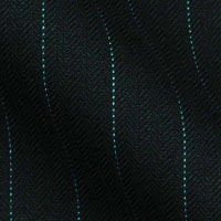 Superfine Wool and Cashmere Suiting by Viggo Torrini in 1/2 inch Pinstripe on Herringbone weave