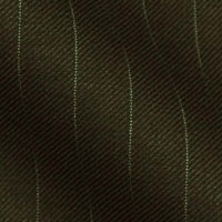 Super 120s Italian Wool - in Basic Bankers Stripes