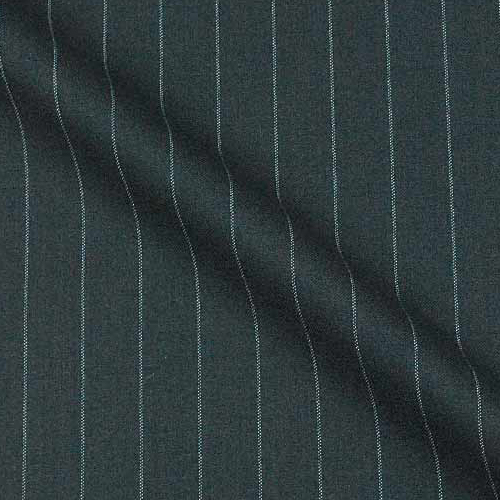 Super 140'S Wool and Cashmere in One Inch wide Stripe
