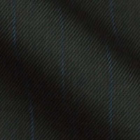Super 130s Wrinkle Resistant Easy Care Worsted Italian Wool Bankers Stripe  in Soft Contrast