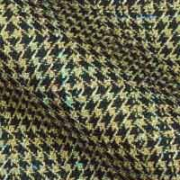 All Wool Houndstooth tweed