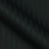 All-year 180s all Italian Super Wool blend and Cashmere in Herringbone Stripe
