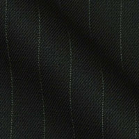 Super 150s Wool and Cashmere in Classic Bankers Pinstripe From The Milano Collections