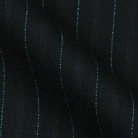 Wool in one-inch stripes by Antonio Gerodi