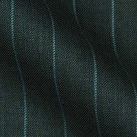 Exclusive Design Chalk Stripe in Contrast Colours by Gianni Marco in Super 120s Italian Wool