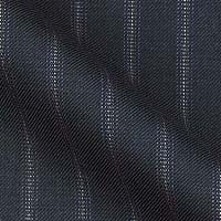 Super Fine 140 s Italian Wool & Cashmere From The Grand-Heritage by Enrico Santos In Contrast Fancy Stripe