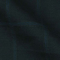 Super Fine 140 s Italian Wool & Cashmere From The Grand-Heritage by Enrico Santo In Window Pane Check