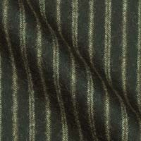 Pure Lambskin Flannel Wool in Old World Buckingham Stripe