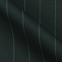Super 120s Italian Virgin Wool and Cashmere Contrast Stripe by Luciano