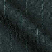 Micro Lite Class Super 120s Italian Wool and Cashmere in Bold Chalk Stripe