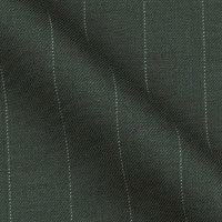 Super 120 wool and Cashmere by Luciano in Chalk Stripe