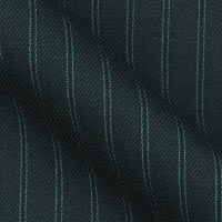 Super 180s Wool in Classical two line Pin Stripe