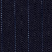 Super 150s Wool and Cashmere Made in England in Narrow Contrast Pin Stripe