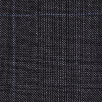Super 150s Wool and Cashmere Made in England in Prince of Wales