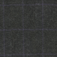 Heavyweight All Wool Winter Fabric in Tweed with Windowpane