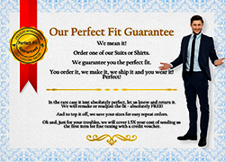 perfect fit custom clothing from my custom tailor