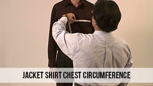 jacket shirt chest circumference