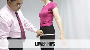 lower hips