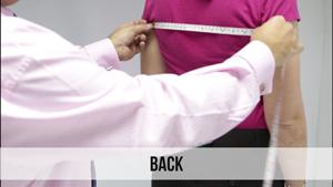 back woman