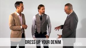 dress up your denim