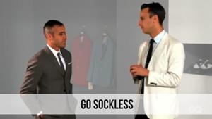 go sockless
