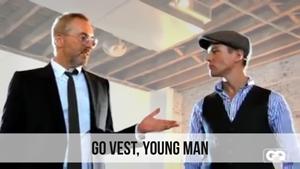 go vest young man
