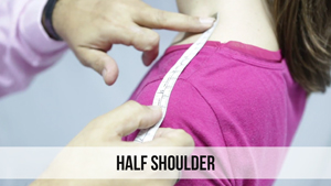 half shoulder woman