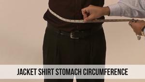 jacket shirt stomach circumference