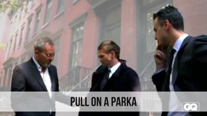 pull on a parka