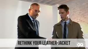 rethink your leather jacket