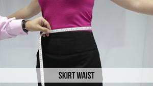 skirt waist woman