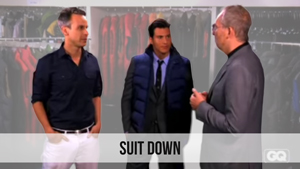 suit down