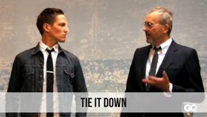 tie it down