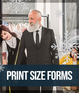 Best Custom Suits & Dress Shirt Tailor print form