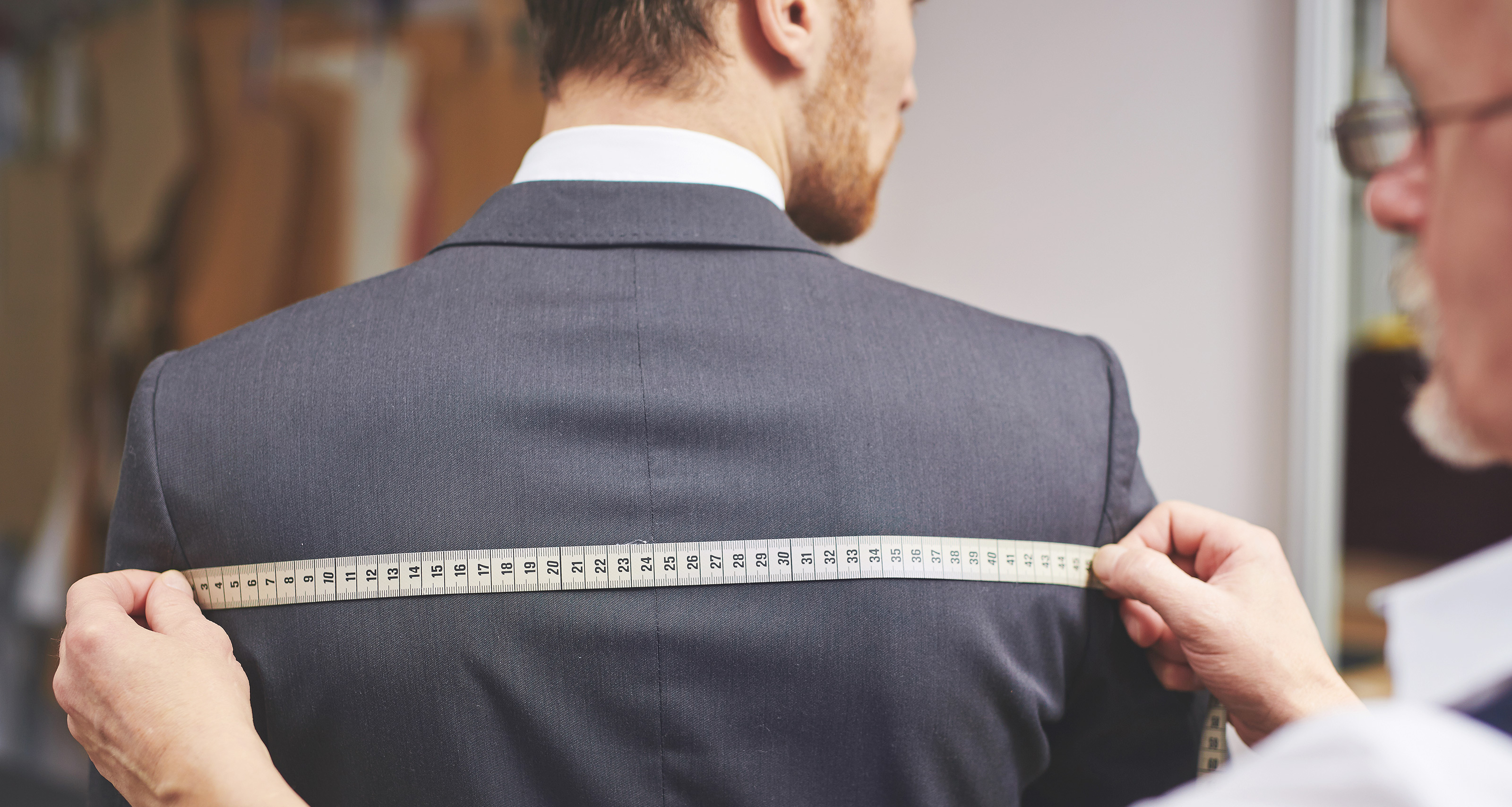 Mens Sizer Measured by your tailor