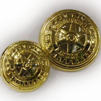 GOLD ROTARY BUTTONS