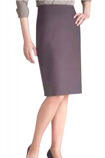 This bespoke pencil skirt can be customized for all. It can be custom made as a wrinkle free attire, on demand. Designed with a center back vent, aligned perfectly with a concealed back zipper, this skirt goes well with all formal office events.