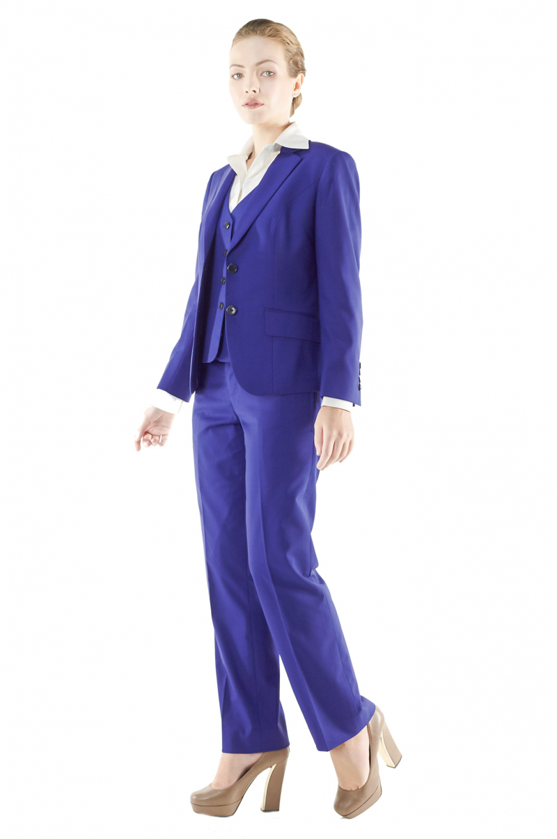 Back To Search Resultswomen's Clothing Sky Blue Women Business Suits Formal Work Slim Office Uniform Styles 2 Piece Jacekt+pant Custom Made Pants Suit 116 Suits & Sets