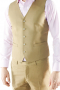 Liven up your look with this Custom Made Six Button Vest waistcoat. Cut to a slim fit, this striking single-breasted layering piece features, welted pockets and fabric covered back.